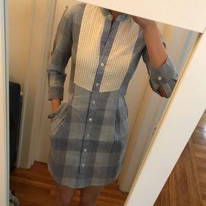 Blue/ White Theory Shirtdress - size 0